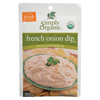 Simply Organic French Onion Dip Mix BFG 53432
