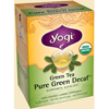 Yogi Teas Green Tean Pure Green Decaf BFG 27100