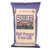 Boulder Canyon Malt Vinegar & Sea Salt Kettle Chips BFG 35765