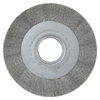 Anderson Brush Medium Crimped Wire Wheel-Da Series, 8 D X 1 1/8 W, .006 Stainless St., 4,500 RPM ANB 066-01344