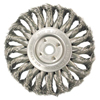 Anderson Brush Medium Face Standard Twist Knot Wire Wheels-TS & TSX Series ANB 066-13664