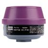 Honeywell Combination Gas And Vapor Cartridges, Organic Vapor, P100, Black, Magenta FND 068-7581P100L
