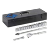 """Armstrong Tools 18 Piece 1/2"""" Dr. Standard Socket sets ARM 069-15-525"""