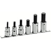 """Armstrong Tools 6 Piece 1/2"""" Dr. Hex Bit Socket Sets ARM 069-44-565"""