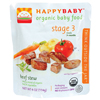Kid's Snacks For Babies: Happy Baby - Beef Stew Pouch 7+ Months