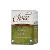 Clean and Green: Choice Organic Teas - Fair Trade Jasmine Green Tea