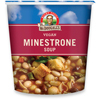 quick meals: Dr. Mcdougall's - Minestrone & Pasta Soup Big Cup