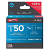 Arrow Fastener T50 Type Staples ARF 091-509