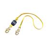 DBI Sala EZ Stop Shock Absorbing Lanyard, 6 Ft, Self-Locking, 310 Lb Capacity, 1 Leg DBI 098-1246011