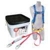 Protecta Compliance In A Can Light Roofers Fall Protection Kit, Back D-Ring, Vest PRT 098-2199802
