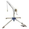 DBI Sala Advanced 2-Piece Rescue Davit System, Aluminum, 1/4 In Winch Lifeline Rope DBI 098-8302500