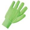 Anchor Brand Canvas Gloves, Large, Hi-Viz Green, Knit-Wrist Cuff ANR 101-1060G