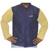 Best Welds Leather/Sateen Combo Jacket, 2X-Large, Blue/Tan BWL 902-1201-2XL