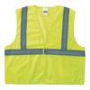 Anchor Brand Class 2 Super Econo Safety Vests, Hook/Loop Closure, 2XL/3XL, Lime ANR 101-2HLL-2/3XL
