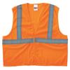 Anchor Brand Class 2 Super Econo Safety Vests, Hook/Loop Closure, L/XL, Orange ANR 101-2HLO-L/XL