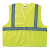 Anchor Brand Class 2 Economy Safety Vests With Pocket, Hook/Loop Closure, 2XL/3XL, Lime ANR 101-2PHLL-2/3XL
