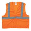 Anchor Brand Class 2 Economy Safety Vests With Pocket, Hook/Loop Closure, 2XL/3XL, Orange ANR 101-2PHLO-2/3XL