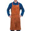 Best Welds Leather Bib Apron, 24 In X 36 In, Lava Brown BWL 902-400