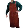 Best Welds Leather Bib Apron, 24 In X 42 In, Lava Brown BWL 902-500