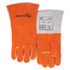 Ring Panel Link Filters Economy: Best Welds - Premium Leather Welding Gloves, Split Cowhide, Large, Russet