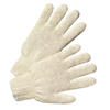 Anchor Brand String-Knit Gloves, Large, Knit-Wrist, Heavy Weight, Natural White ANR 101-6700