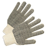 Ring Panel Link Filters Economy: Anchor Brand - PVC Dot String Knit Gloves / 1 Dozen