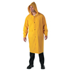 Anchor Brand Polyester Raincoat, 0.35 mm PVC/Polyester, Yellow, 48 In, 2X-Large ANR 101-9010-2XL