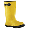 Anchor Brand Slush Boots, Size 14, 17 In H, Natural Rubber Latex/Calcium Carbonate, Yellow ANR 101-9040-14