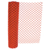 Anchor Brand Chain Link Safety Fence, 4 Ft X 50 Ft, Polyethelene, Orange ANR 101-FEN1009