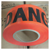 Traffic Safety Safety Tapes: Anchor Brand - Economy Barrier Tape, 3 In X 1,000 Ft, Red, Danger