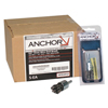 Anchor Brand Knot Wire End Brush, Carbon Steel, 3/4 In X 0.02 In Pop ANR 102-34EB20POP