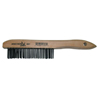 Anchor Brand Hand Scratch Brushes, 4 X 16 Rows, Carbon Steel Bristles, Shoe Wood Handle ANR 102-387