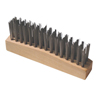 Anchor Brand Chipping Hammer Brush, 3 X 15 Rows,Carbon Steel Wire, Straight Wood Handle,12/Bx ANR 102-A-19