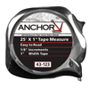 Ring Panel Link Filters Economy: Anchor Brand - Easy To Read Tape Measures, 1/2 In X 12 Ft