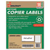 Ability One AbilityOne™ Recycled Copier Labels NSN 2074363