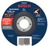 Bosch Power Tools Thin Cutting/Rapido Type 1A (Iso 41) Wheel, 4 1/2, 7/8 Arbor, As60Inox-Bf Grit BPT 114-TCW1S450