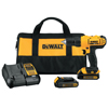 DeWalt 20V MAX Lithium Ion Compact Drill/Driver Kits, Dcd771 1/2 Drill Driver, 20 V DEW 115-DCD771C2