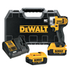DeWalt 20V MAX High Torque Impact Wrench Kit, 1/2 In, 1,500 RPM, W/Charger, Case DEW 115-DCF880M2