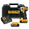 DeWalt 20V MAX Impact Wrench Kit, 3/8 In, Hog Ring Avil, 2,300 RPM, W/Charger, Bag DEW 115-DCF883M2
