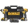DeWalt 20V MAX Cordless Combo Kits, Dcd780 1/2 Drill/Driver; Dcf885 1/4 Imp Driver DEW 115-DCK280C2