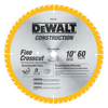 DeWalt Construction Miter/Table Saw Blades DEW 115-DW3106