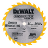 DeWalt Cordless Construction Saw Blades DEW 115-DW9054