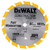 DeWalt Cordless Construction Saw Blades DEW 115-DW9055