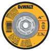 Abrasives: DeWalt - High-Performance Wheel, 4 1/2 In Dia, 1/8 In Thick, 24 Grit Alum. Oxide