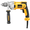 DeWalt DWD210G 1/2 In Heavy-Duty Drills, Metal, Single Sleeve Ratcheting Chuck, 1200RPM DEW 115-DWD210G