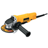 DeWalt 4 1/2 Paddle Switch Small Angle Grinder, 7.5 A, 12,000 RPM DEW 115-DWE4012