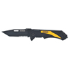 "Tools: DeWalt - Folding Pocket Knives, 7"", Serrated/Straight Steel Blade, Anodized Aluminum"