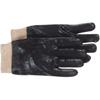 Boss Interlock Lined Black PVC Coated Gloves - Large BSS 121-1SP8712
