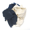 Hospeco Mixed Color Medium Weight Rags HSC 125-50