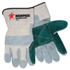 Gloves Canvas Gloves: Memphis Glove - Sidekick Side Leather Gloves, Large, Leather